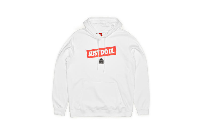 Nike x Dover Street Market Just Do It Hoodie White