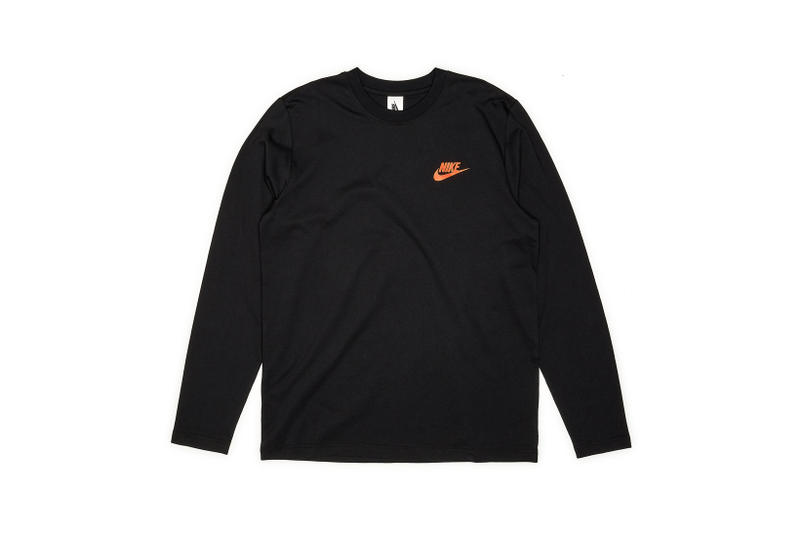 Nike x Dover Street Market Just Do It Long Sleeve T-shirt Black