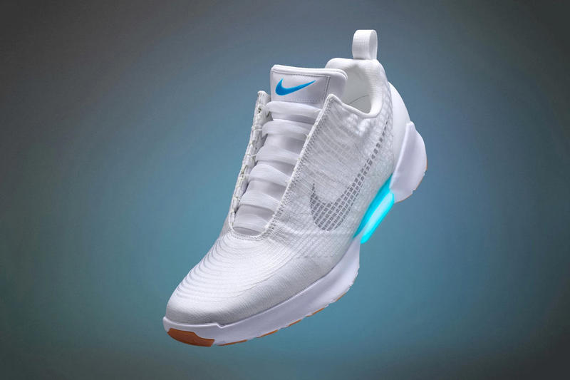 nike hyperadapt self lacing sneaker 2019 release basketball shoe general launch