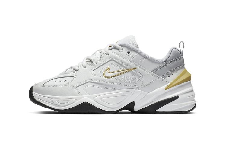 sports shoes 92f71 ad47d Nikes Latest M2K Tekno Has a Burst of Sunshine Yellow