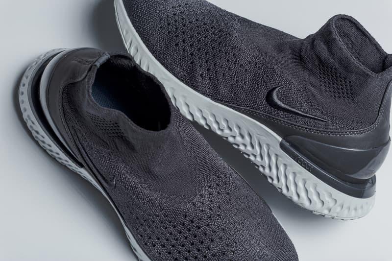 Nike Rise React Sock Sneaker Dusky Rust Pink Thunder Grey