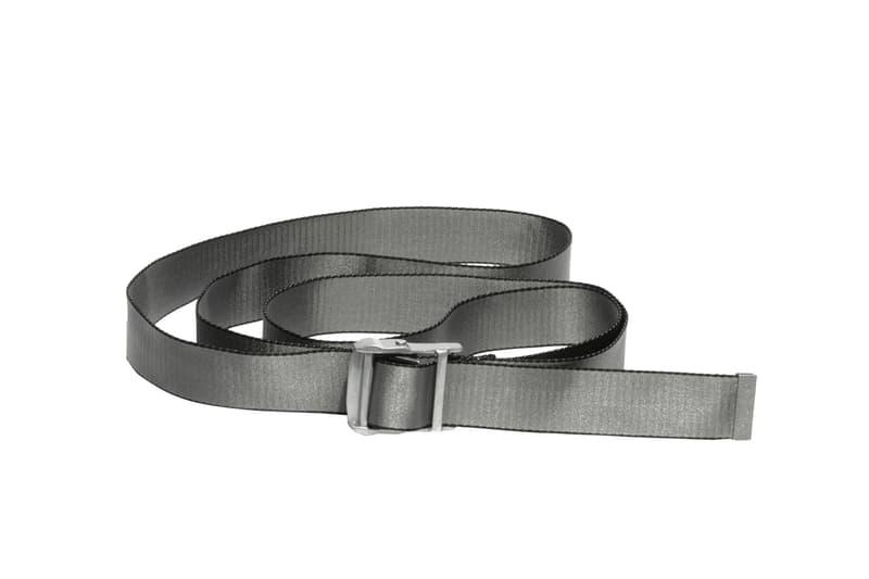 Off-White's Black & Silver Rinacente Collection Hoodie Cap Apparel Print Tshirt Silver Black Virgil Abloh Streetwear