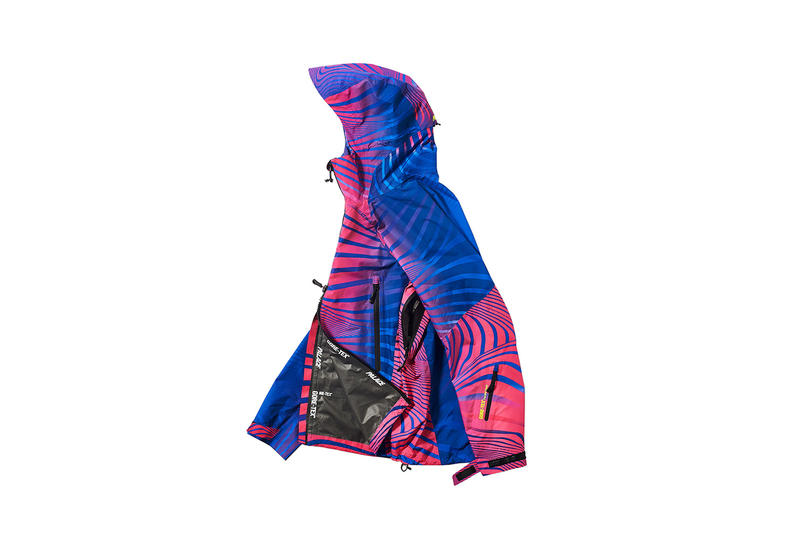 Palace GORE-TEX Jacket Blue Pink