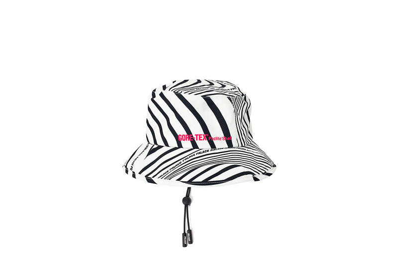 Palace GORE-TEX Hat White Black