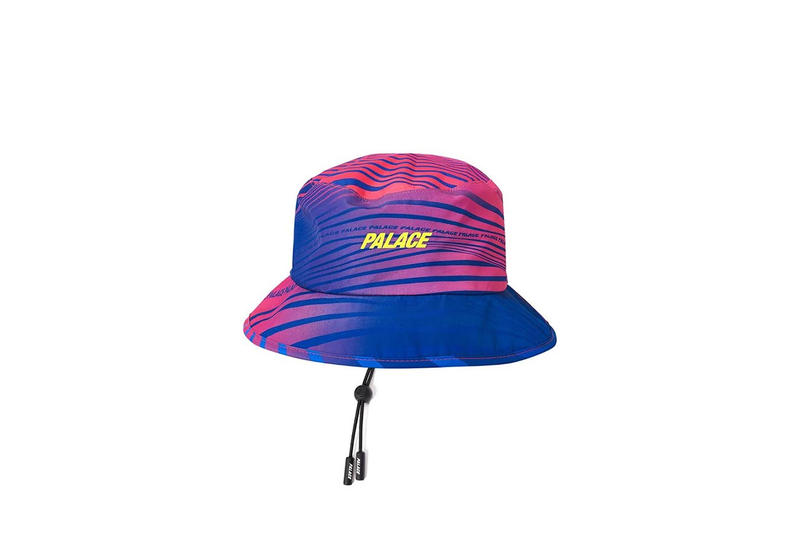 Palace GORE-TEX Hat Blue Pink