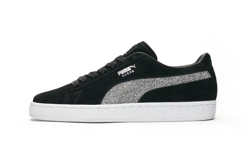 cccff3726826 Swarovski PUMA Suede Classic Crystal Black Sneakers Trainers