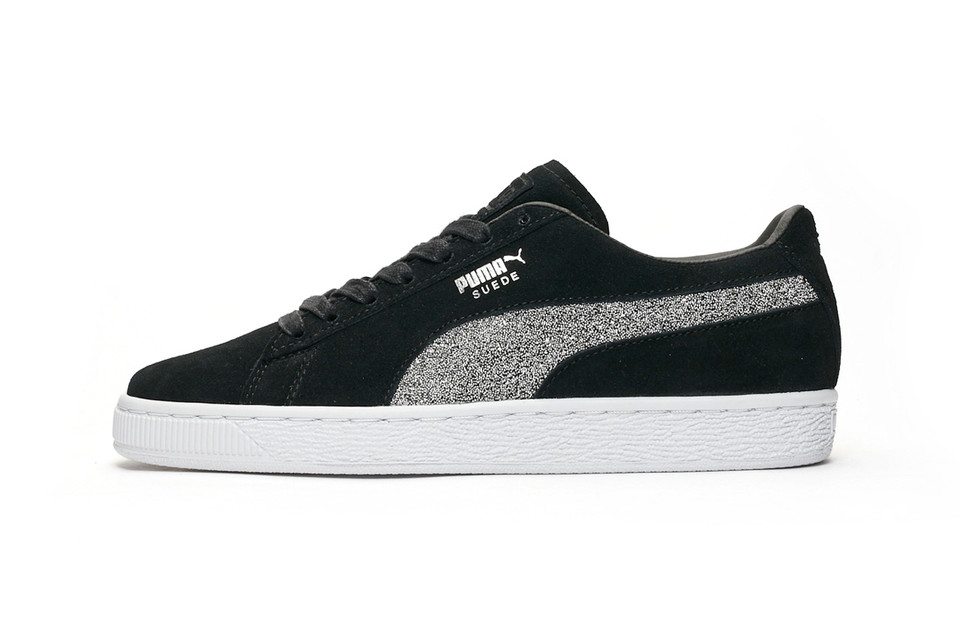 This PUMA Suede Classic Sneaker Is Dazzling With Swarovski Crystals 68fa4ba3b