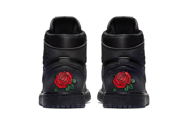 Rox Brown x Air Jordan 1 Retro High OG Black Metallic Gold