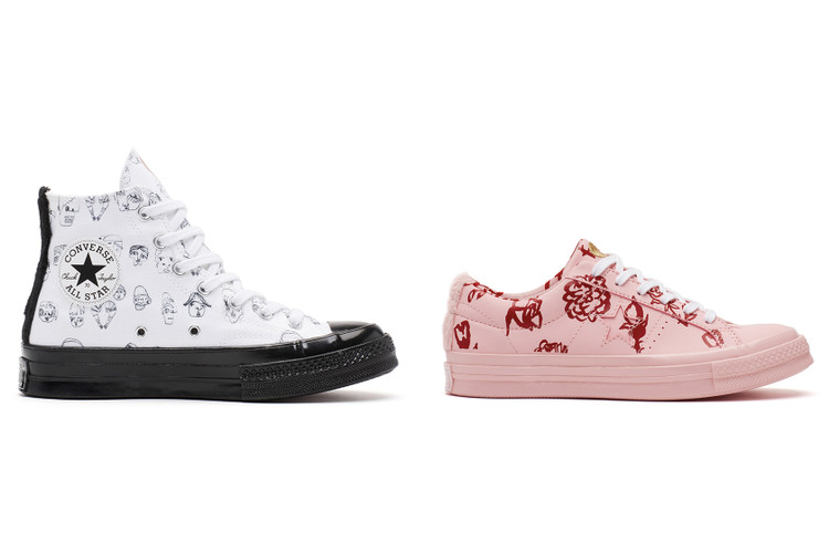 Here s Your First Look at the Adorably Stylish Shrimps x Converse Collab 128bfb8a6