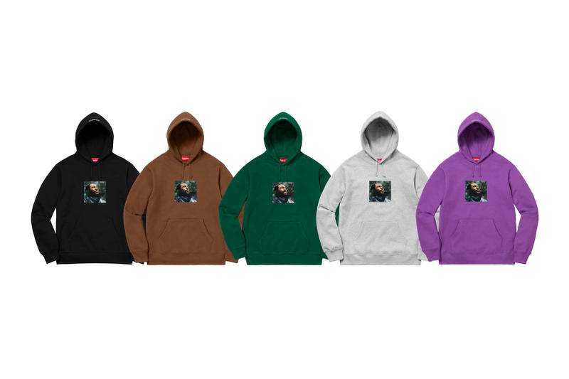 Supreme Marvin Gaye Fall Winter 2018 Collection Hoodies Black Brown Green Grey Purple