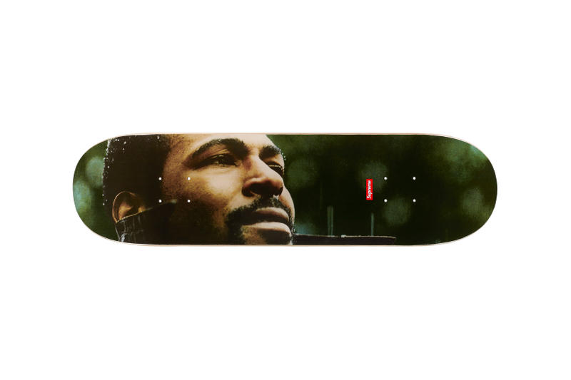 Supreme Marvin Gaye Fall Winter 2018 Collection Skateboard
