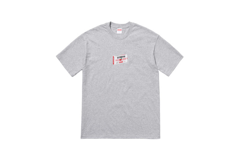 Supreme Marvin Gaye Fall Winter 2018 Collection T-Shirt Grey
