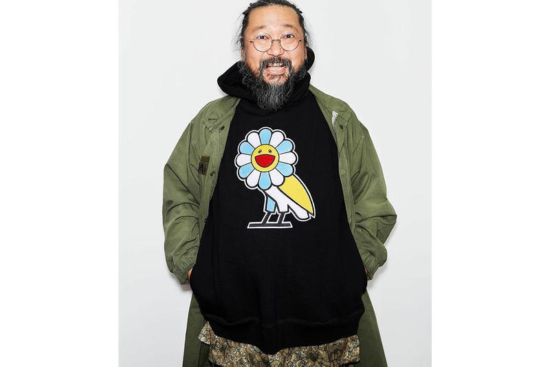 48b2beef4545b4 Takashi Murakami x OVO Hoodie Black Release Date