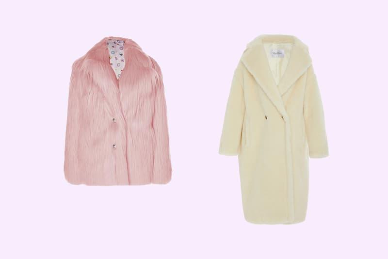 Charlotte Simone Huggle Jacket Pink Max Mara Ginnata Alpaca Wool Coat Ivory