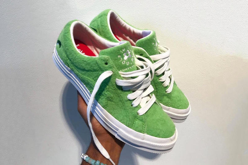 Tyler, the Creator Converse Grinch le Fleur Sneakers Sneaker Green Christmas Holiday Giveaway 2018 Golf Wang One Star