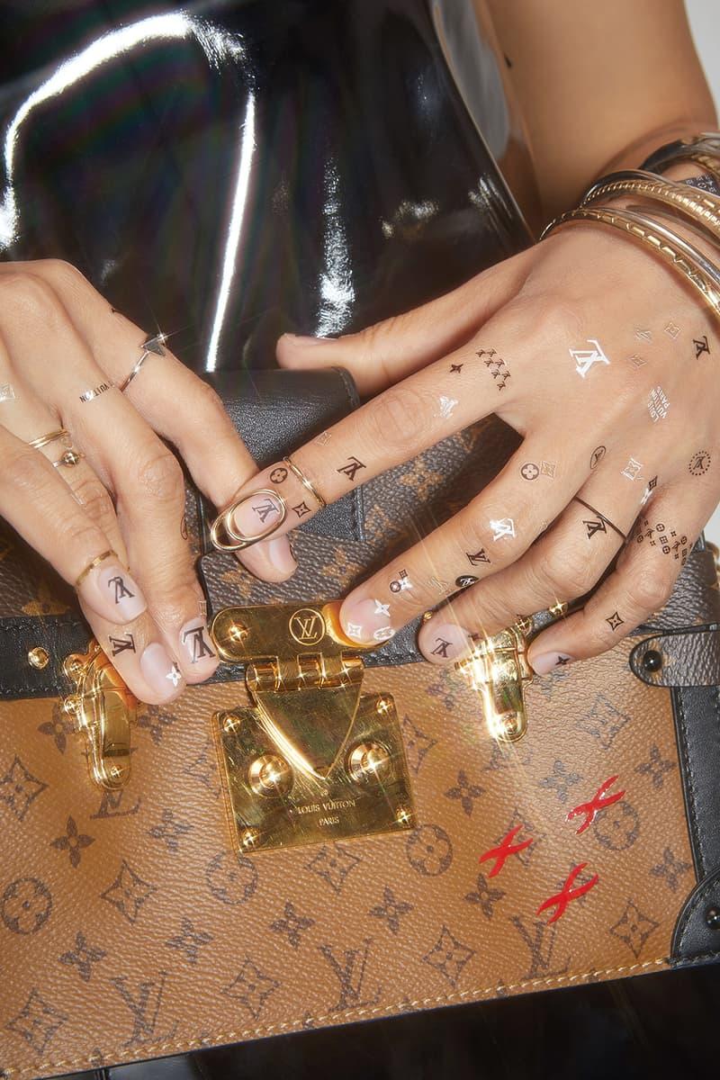 Unistella Fashion Logo Trends Nail Art 2018 Gucci Louis Vuitton Versace Fendi EunKyung Park
