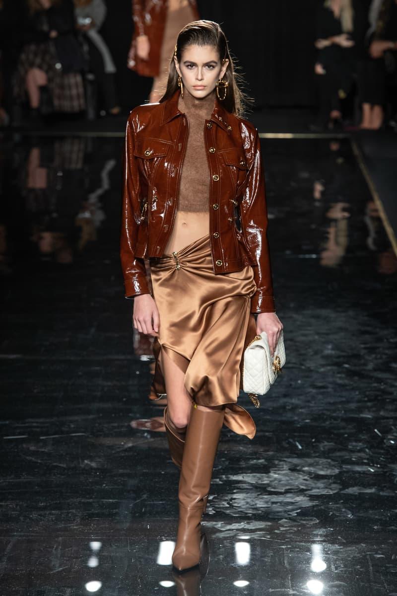 Versace Pre-Fall 2019 Runway Fashion Show New York Kaia Gerber