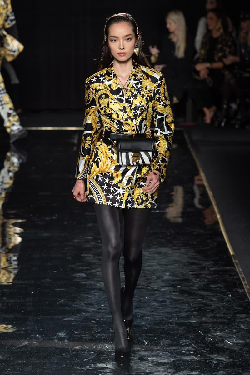 Versace Pre-Fall 2019 Runway Fashion Show New York Fei Fei Sun