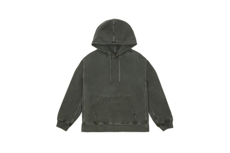 YEEZY Relaxed Fit Hoodie Dark Grey
