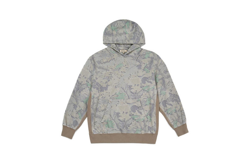 YEEZY Camouflage Boxy Fit Hoodie Tan
