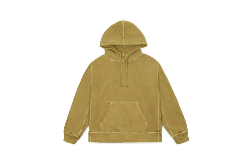 YEEZY Relaxed Fit Hoodie Yellow