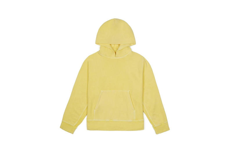 YEEZY Fleece Hoodie Yellow