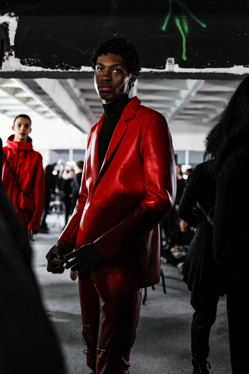 1017 ALYX 9SM Paris Fashion Week Men's Backstage Matthew Williams Kaia Gerber