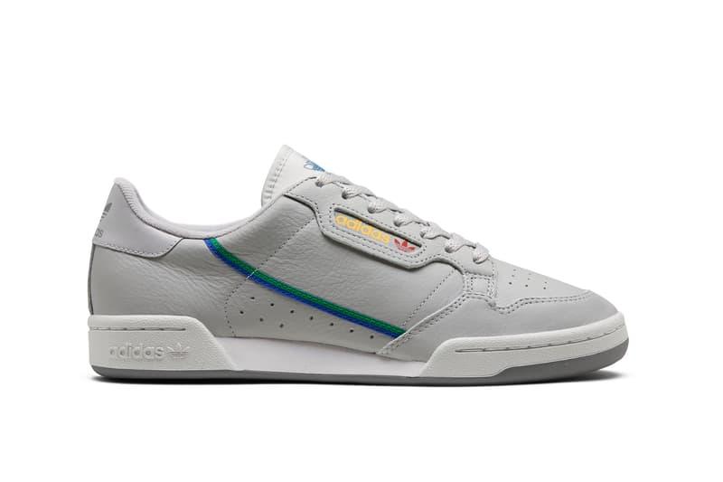 adidas Originals Continental 80 Spring Summer 2019 Collection Grey