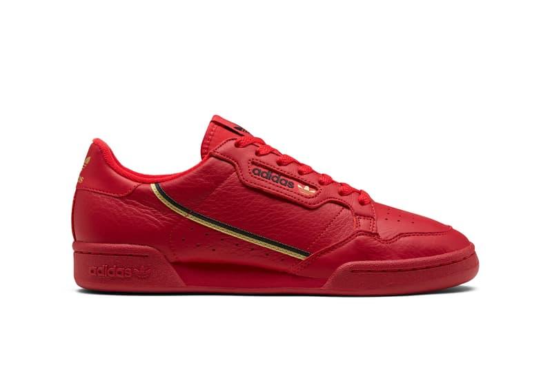 adidas Originals Continental 80 Spring Summer 2019 Collection Red