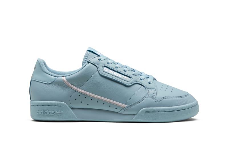 adidas Originals Continental 80 Spring Summer 2019 Collection Light Blue