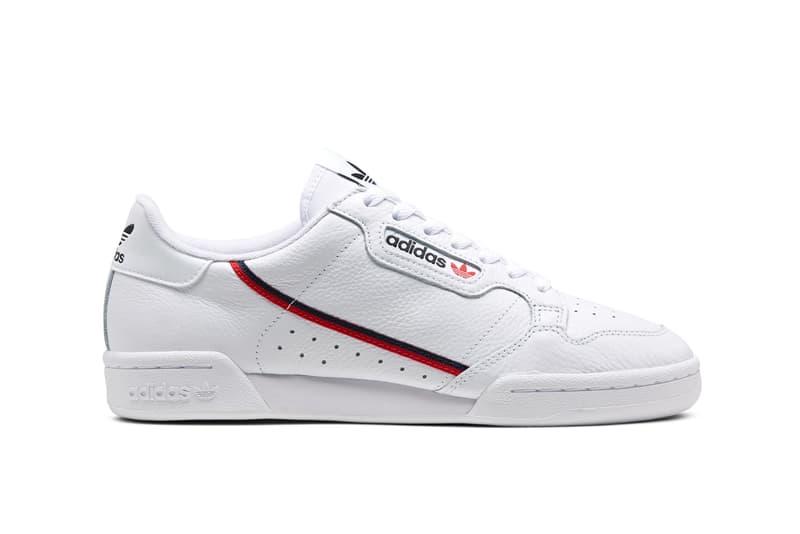 adidas Originals Continental 80 Spring Summer 2019 Collection White