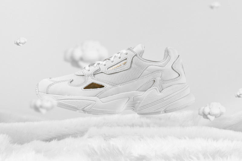 Adidas Originals Falcon In White Metallic Gold Hypebae
