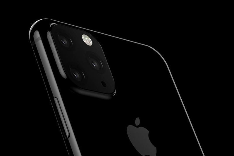 Leaked Images of Apple's Upcoming iPhone XI Technology First Look Triple Camera System 3D Model AI