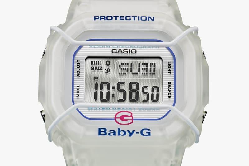 Baby-G BGD525-7 Watch White Transparent