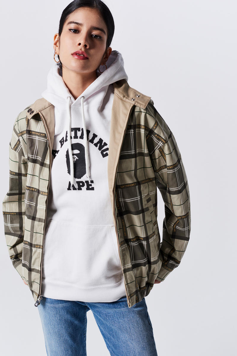 A Bathing Ape Spring Summer 2019 Collection Lookbook Hoodie Grey Jacket Camo Green Tan