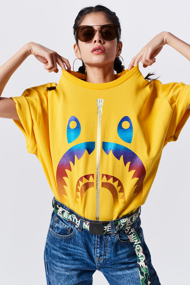 A Bathing Ape Spring Summer 2019 Collection Lookbook Sweater Yellow