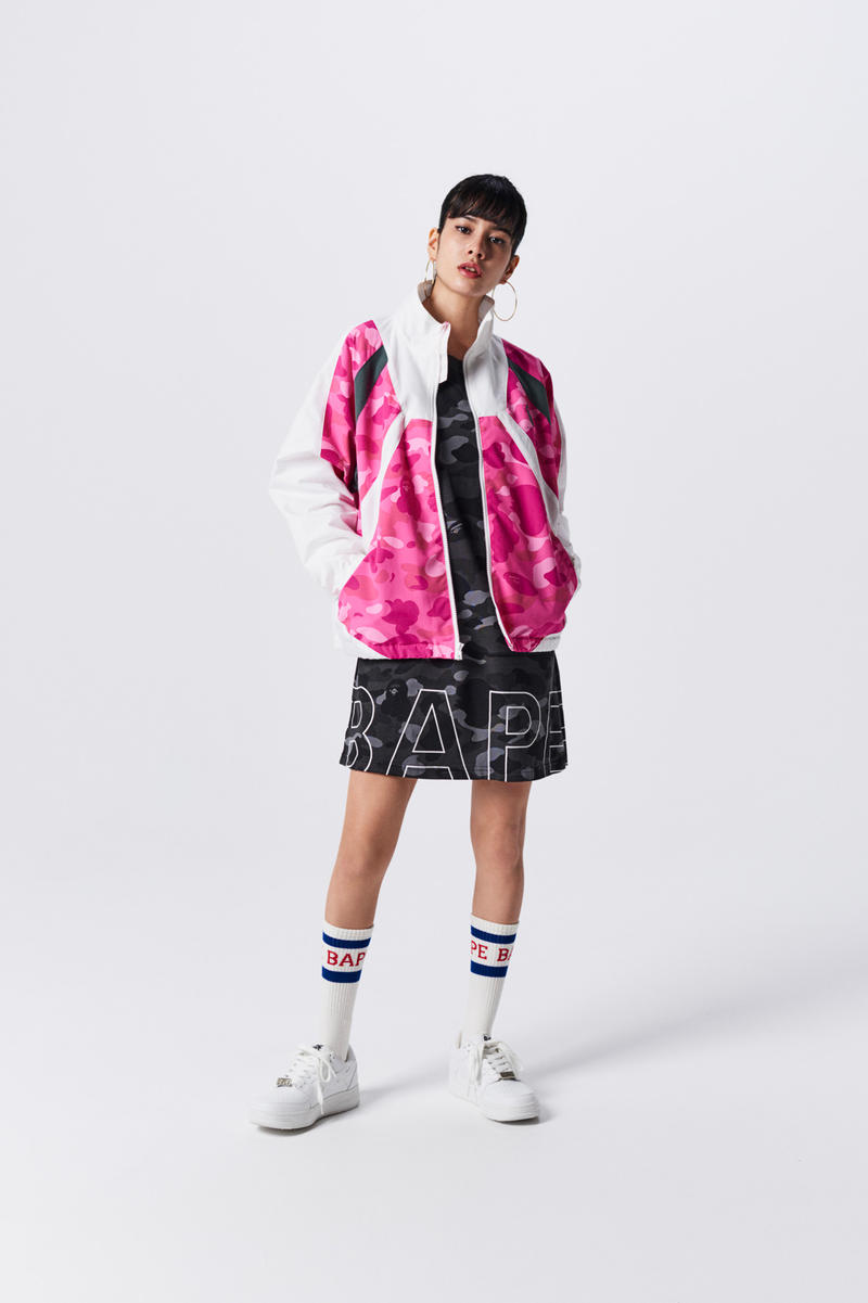 A Bathing Ape Spring Summer 2019 Collection Lookbook Jacket Pink