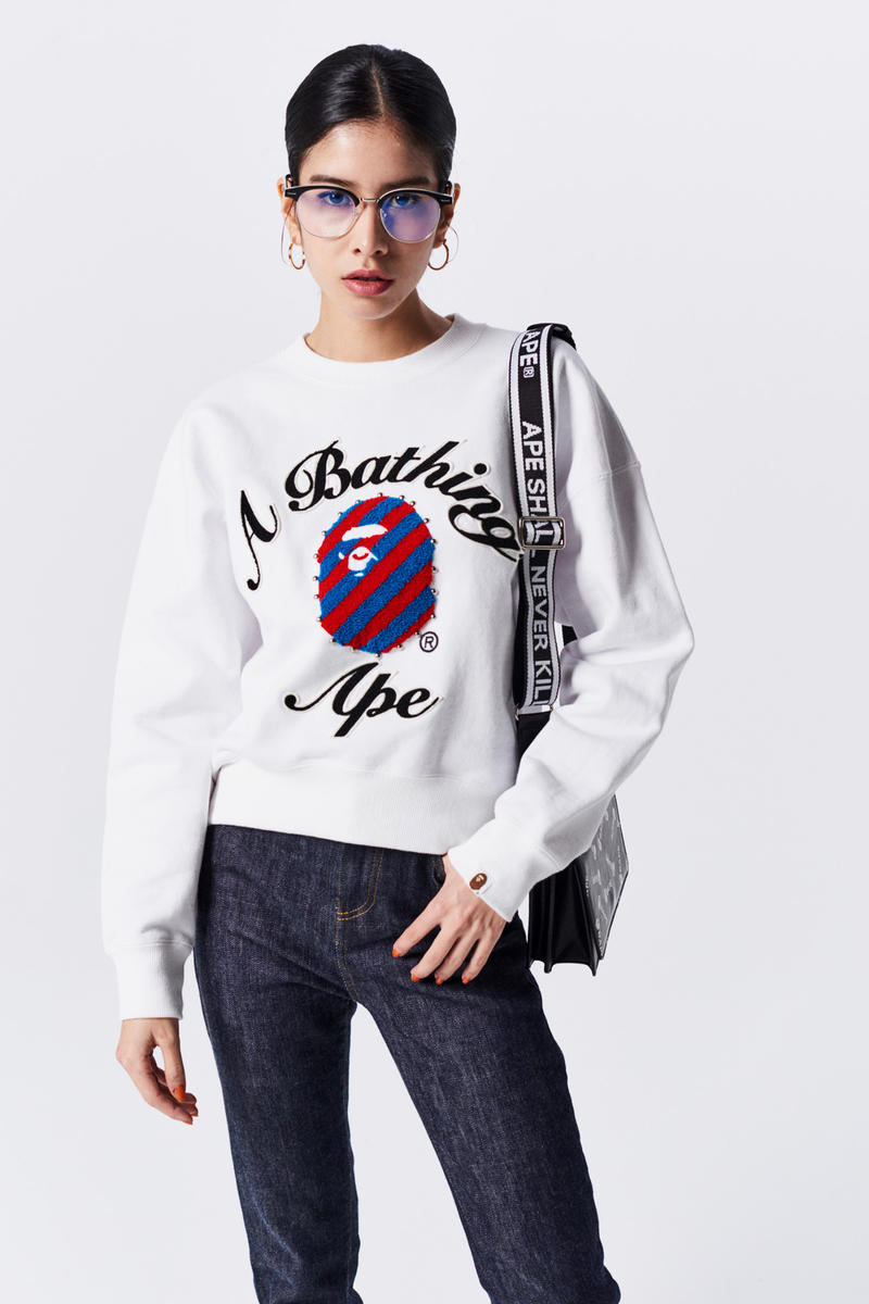 A Bathing Ape Spring Summer 2019 Collection Lookbook Sweater White