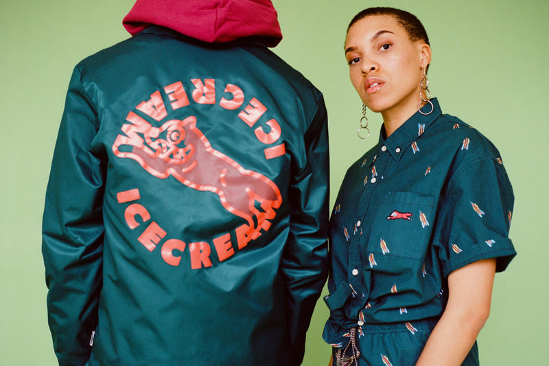 ICECREAM's Pastel Spring 2019 Collection Streetwear Range Color Billionaire Boys Club BBC