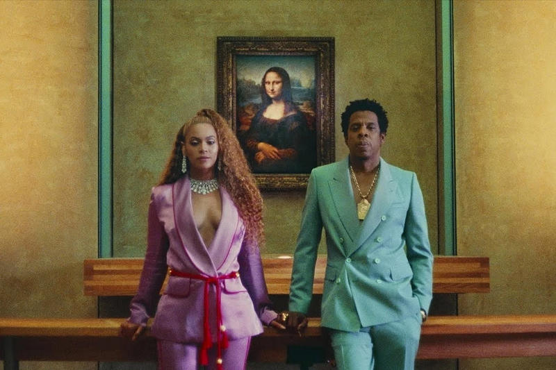beyonce jay z the carters louvre museum visitor record apeshit music video tour