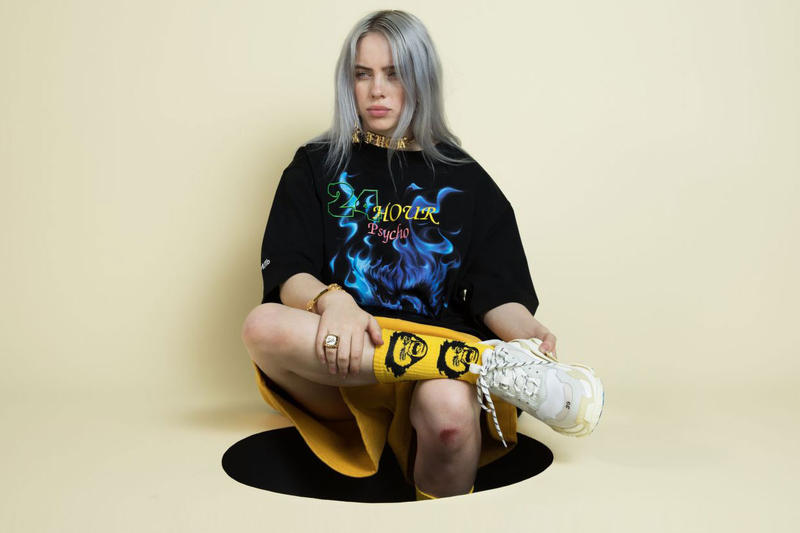 Billie Eilish Balenciaga Triple S