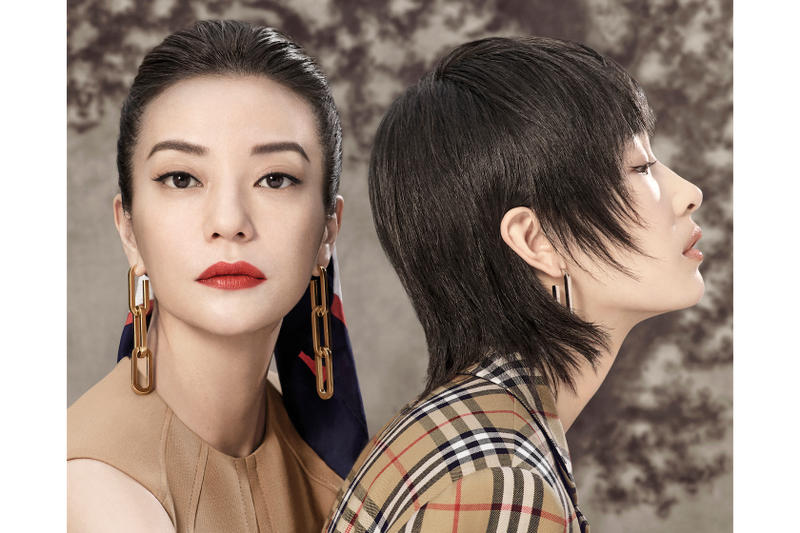 Burberry Zhao Wei and Zhou Dongyu CNY Campaign Chinese New Year Celebration