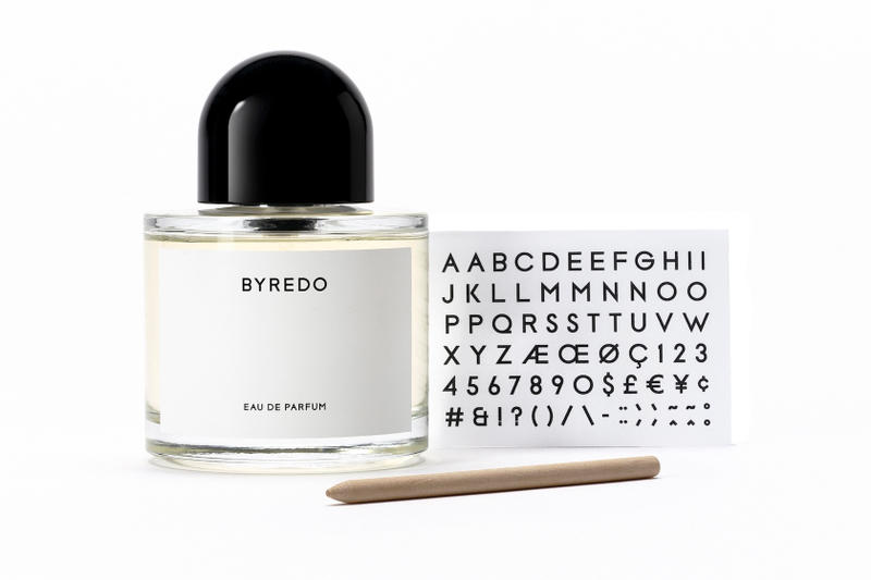 Byredo UNNAMED Fragrance Perfume Beauty Brand