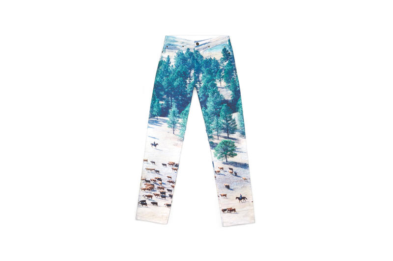 CALVIN KLEIN JEANS EST. 1978 Delivery 2 Drop 02 Mountain Print Jeans Blue