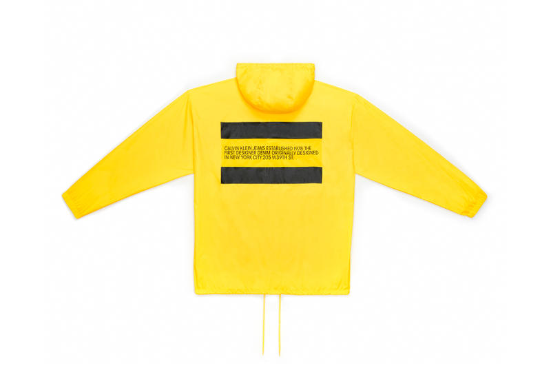 CALVIN KLEIN JEANS EST. 1978 Delivery 2 Drop 02 Jacket Yellow