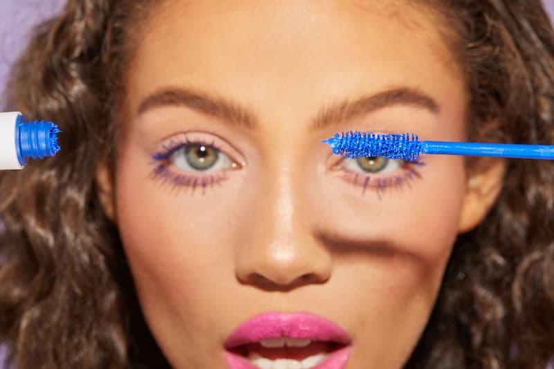Colourpop bff mascara makeup cosmetics beauty model blue