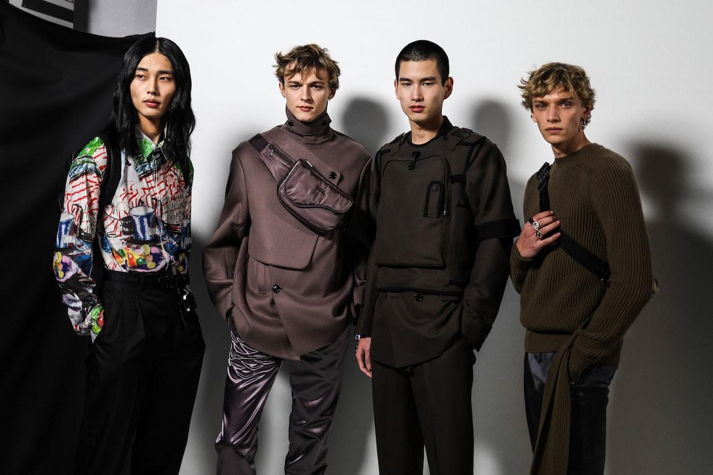 57f533ba72 Backstage at Dior FW19 Paris Fashion Week Men's   HYPEBAE