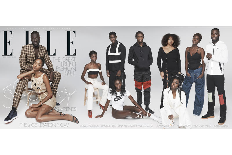 Stormzy Jourdan Dunn ELLE UK Magazine Cover Young Black British Creatives