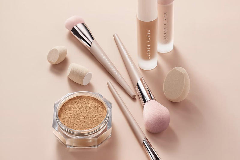 Fenty Beauty Pro Filt'r Setting Powder Makeup Brushes Concealers