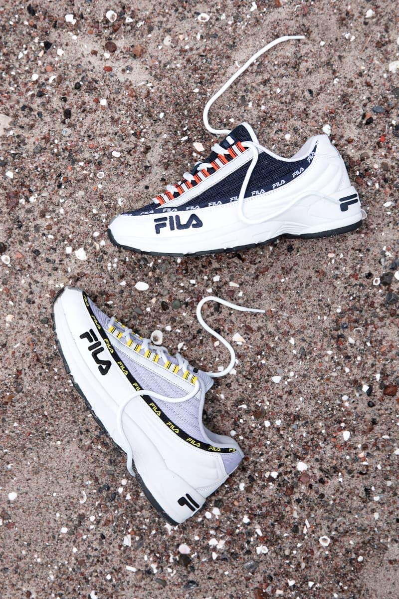 FILA Dragster Sneaker Naked Cph Shoe Fashion Footwear Brand Shoot Lookbook